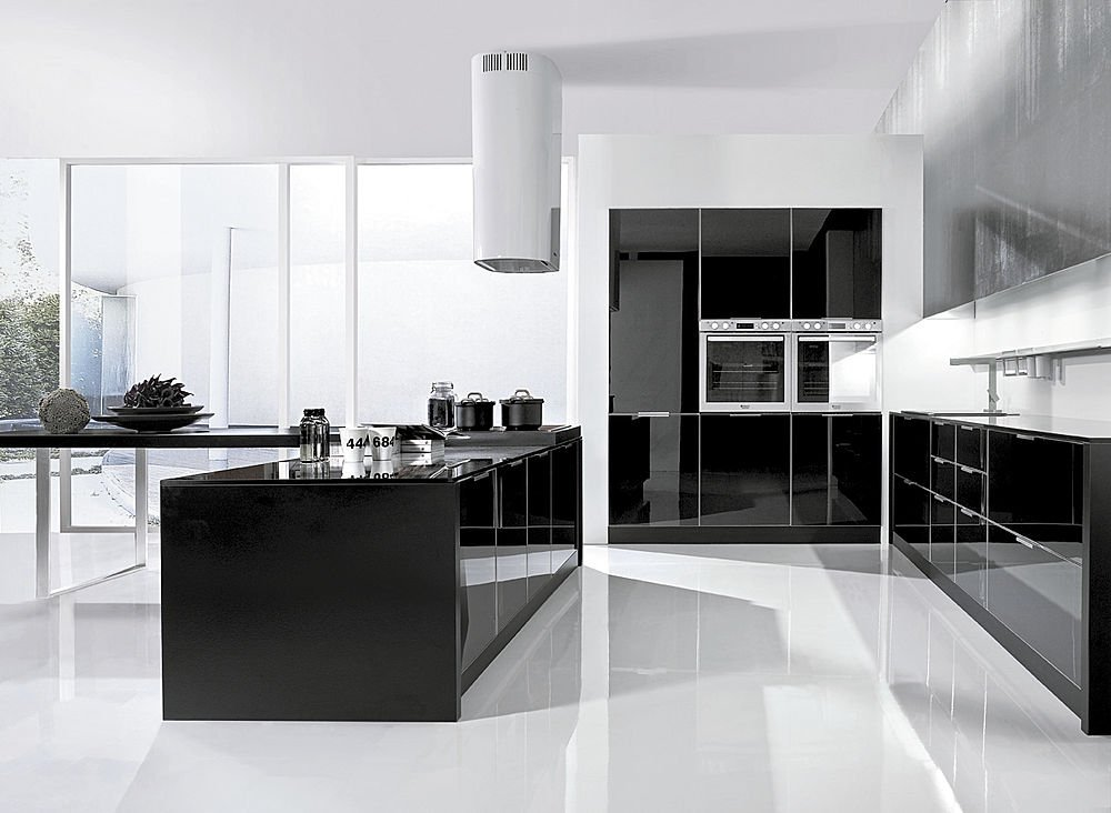 Am nagement cuisine contemporaine for Cuisines contemporaines design